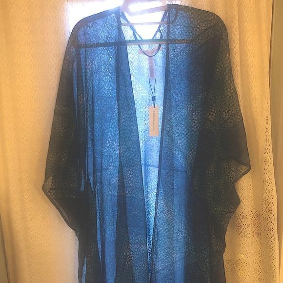 NWT BCBGeneration Sheer Kimono